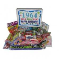 1964 50th Birthday Gift Basket